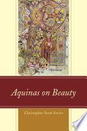 Aquinas On Beauty book