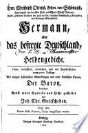 Hermann; oder, Das Befreyte Deutschland