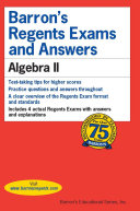 Barron s Regents Exams and Answers  Algebra II
