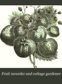 download ebook fruit recorder and cottage gardener pdf epub