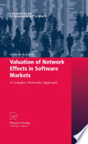 Valuation of Network Effects in Software Markets Book PDF