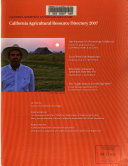 California Agricultural Resource Directory
