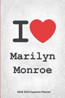 I Marilyn Monroe 2018 2019 Supreme Planner