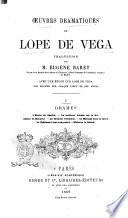 Oeuvres dramatiques de Lope de Vega traduction de Eugène Baret