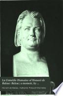 Balzac  a memoir  by Katherine Prescott Wormeley
