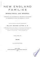 New England Families  Genealogical and Memorial Book PDF
