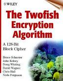The twofish encryption algorithm