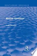Nadine Gordimer  Routledge Revivals