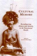 Cultural Memory Book PDF