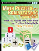 Math Puzzles And Brainteasers Grades 6 8