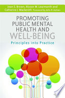 Promoting Public Mental Health and Well being