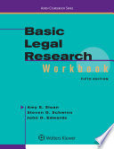 Basic Legal Research Workbook
