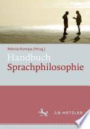 Handbuch Sprachphilosophie