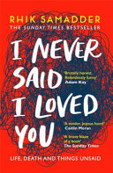 I Never Said I Loved You Book PDF