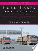 Fuel Taxes And The Poor