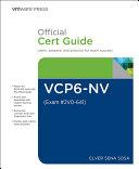 VCP6 NV Official Cert Guide  Exam  2V0 641
