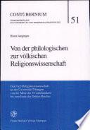 Von der philologischen zur völkischen Religionswissenschaft