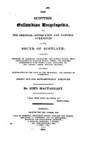 download ebook the scottish gallovidian encyclopedia, or, ... curiosities of the south of scotland ... pdf epub