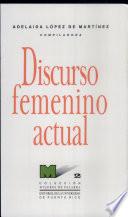 Discurso femenino actual
