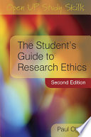 The Student s Guide to Research Ethics