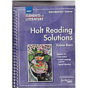 Elements Of Literature Grade 6 Holt Reading Solutions