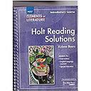 Elements Of Literature Grade 6 Holt Reading Solutions