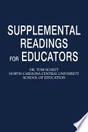 Supplemental Readings for Educators