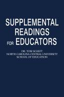 download ebook supplemental readings for educators pdf epub