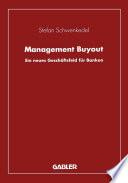Management Buyout