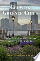 Growing Greener Cities book