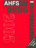 AHFS Drug Information 2005