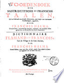 Grand dictionnaire fran  ais et flamand