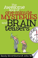 download ebook the awesome book of one-minute mysteries and brain teasers pdf epub