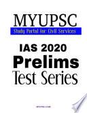 UPSC IAS Prelims 2020 GS Paper-1:Practice Mock Test 10