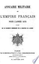 Annuaire Militaire De L Empire Fran Ais Pour L Ann E