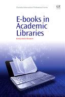 E-books in Academic Libraries Book