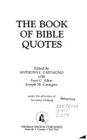 The Book of Bible Quotes