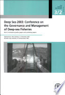 Deep Sea 2003  Conference poster papers and workshop papers