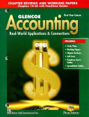 Glencoe Accounting  1st Year Course  Chapter Reviews and Working Papers 14 28