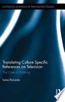 Translating Culture Specific References on Television