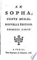 Le Sopha, Conte Moral