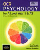 OCR Psychology for A Level Year 1   AS