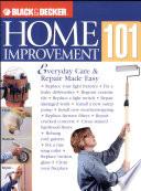 Black and Decker Home Improvement 101