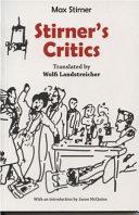 Stirner s Critics