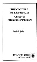 The concept of existence