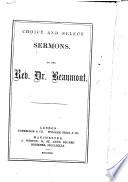 Choice and Select Sermons