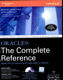 Oracle 9I  Tcr W Cd