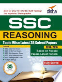 SSC Reasoning Topic wise LATEST 35 Solved Papers  2010 2016