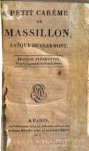 Petit carême de Massillon