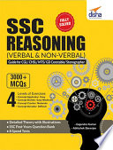 SSC Reasoning  Verbal   Non Verbal  Guide for CGL  CHSL  MTS  GD Constable  Stenographer